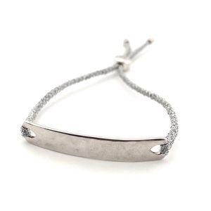 Monica Vinader Sterling Silver Havana Bracelet